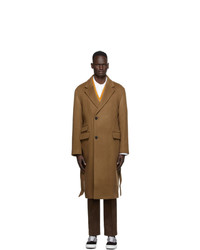 Wooyoungmi Brown Cashmere Coat