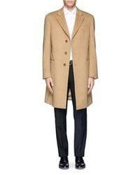 Nobrand Camel Virgin Wool Overcoat