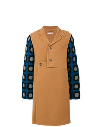 JW Anderson Crochet Detail Coat
