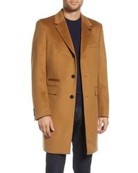 Ted Baker London Danez Slim Fit Wool Overcoat