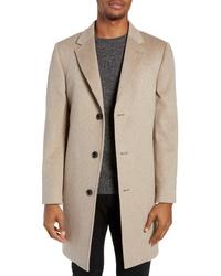 Nordstrom Signature Darien Solid Cashmere Overcoat