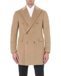 Corneliani Double Breasted Cashmere Overcoat