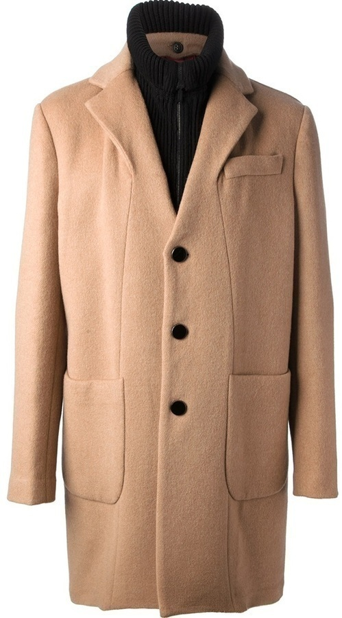 Ice Iceberg Double Collar Coat