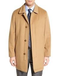 Hart Schaffner Marx Douglas Classic Fit Wool Cashmere Overcoat
