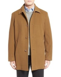 Italian wool blend overcoat medium 841620