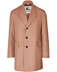Burberry London Camel Hair Pitchford Coat