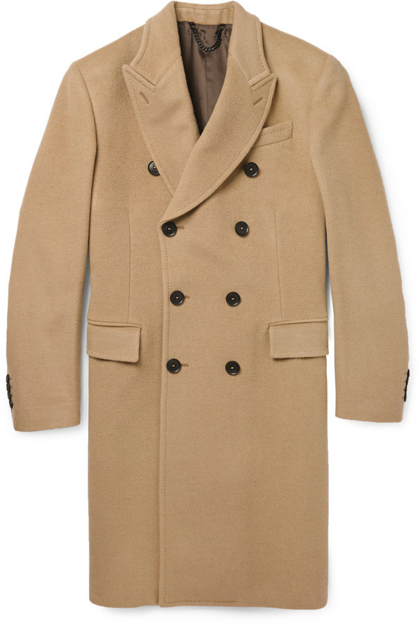 Paul Smith London Double Breasted Wool Cashmere Overcoat | Where ...