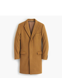 J.Crew Ludlow Peak Lapel Topcoat In Wool Cashmere With Thinsulate