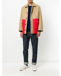 MAISON KITSUNÉ Maison Kitsun Colour Block Coat
