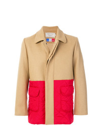 MAISON KITSUNÉ Maison Kitsun Colour Block Coat