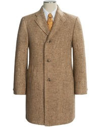 Hickey Freeman Modelcurrentbrandname Fancy Topcoat Wool