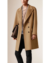 Burberry Oversize Double Cashmere Chesterfield