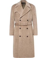 Marc Jacobs Oversized Double Breasted Brushed Woven Coat