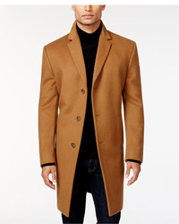 Kenneth Cole Reaction Raburn Wool Blend Over Coat Slim Fit