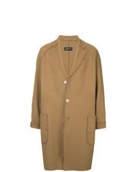 Zambesi Raw Edge Single Breasted Coat