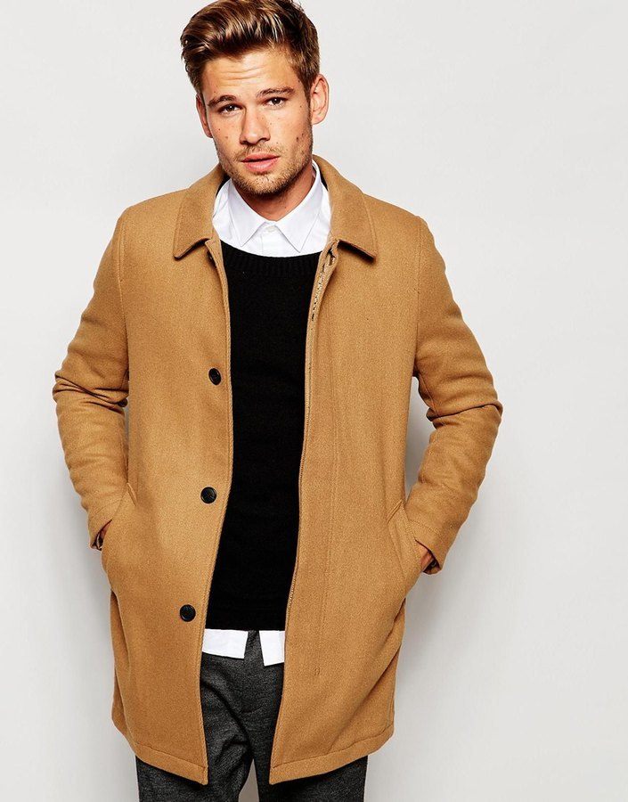 Selected Homme Unstructured Wool Overcoat | Where to buy & how to wear