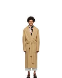 Loewe Tan Cashmere Coat