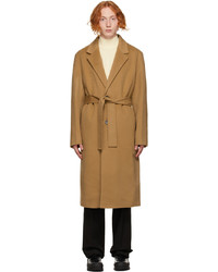 Solid Homme Tan Oversized Robe Coat
