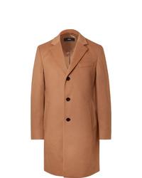 Hugo Boss Wool And Cashmere Blend Coat