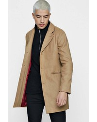 Boohoo Wool Mix Overcoat