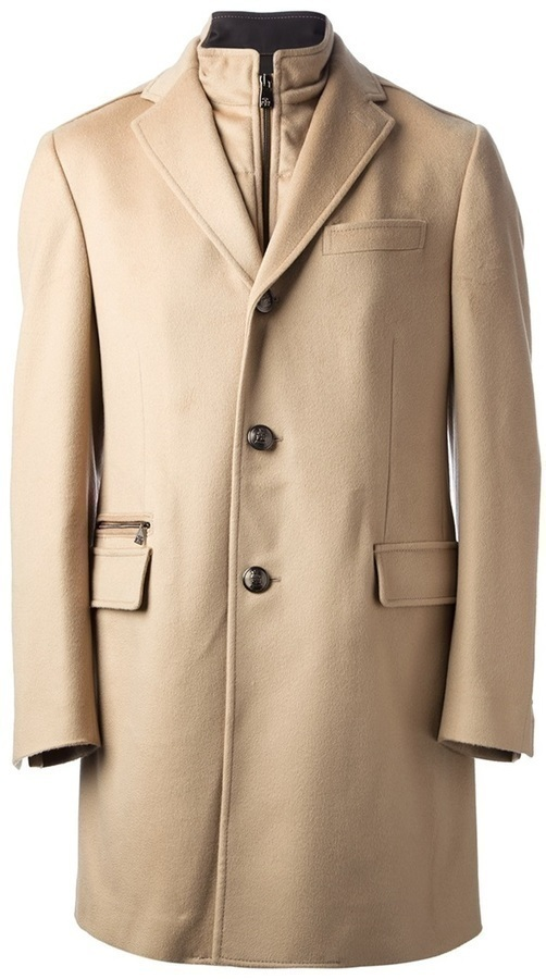 Corneliani Zip Insert Coat