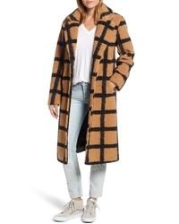 NVLT Berber Longline Plaid Coat