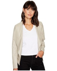 BB Dakota Jack By Leora Quilted Pu Jacket Coat