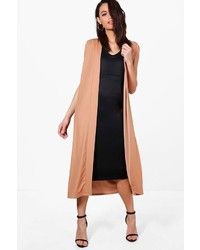 Boohoo Jane Sleeveless Collarless Duster