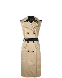 Sleeveless trench coat medium 7942496