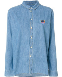 Camisa Azul de Kenzo
