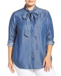 Camisa azul de MICHAEL Michael Kors