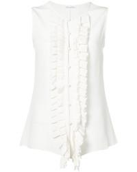 Camisa blanca de Oscar de la Renta