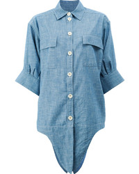 Camisa celeste de Chloé