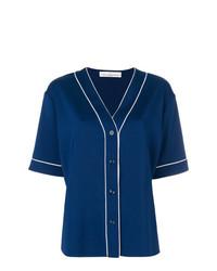 Camisa de manga corta azul marino de Golden Goose Deluxe Brand