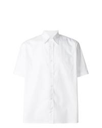 Camisa de manga corta blanca de Fendi