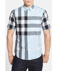 Camisa de Manga Corta Celeste de Burberry
