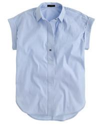 Camisa de manga corta celeste de J.Crew