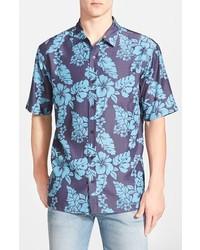 Camisa de manga corta con print de flores azul marino de O'Neill