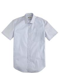 Camisa de manga corta de rayas verticales
