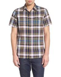 Camisa de manga corta marrón
