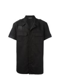 12094e978171d ... Camisa de manga corta negra de Neil Barrett