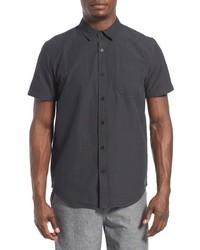 Camisa de Manga Corta Negra de Tavik