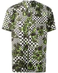 Camisa de manga corta verde
