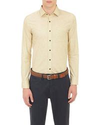 Camisa de manga larga amarilla