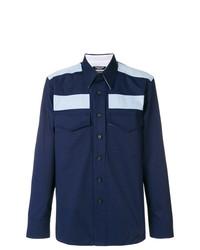 Camisa de manga larga azul marino de Calvin Klein 205W39nyc