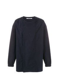 Camisa de manga larga azul marino de Chalayan