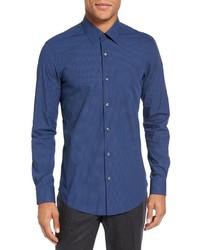 Camisa de Manga Larga Azul de Pal Zileri