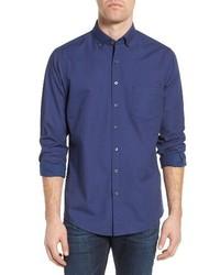 Camisa de Manga Larga Azul de Rodd & Gunn