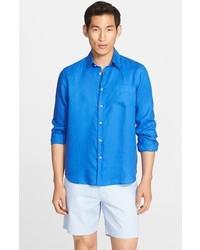 Camisa de Manga Larga Azul de Vilebrequin