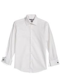 Camisa de manga larga blanca de DKNY
